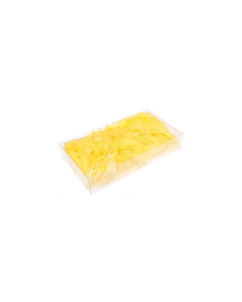 Piórka opakowanie 50g cytrynowe