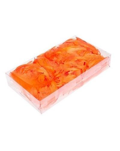 Piórka opakowanie 50g pomarańczowe