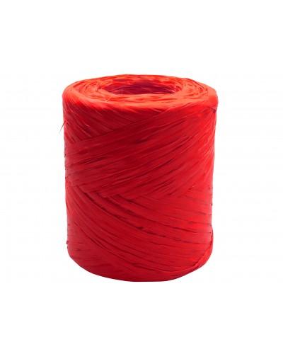 Rafia w rolce czerwona 200m rafii