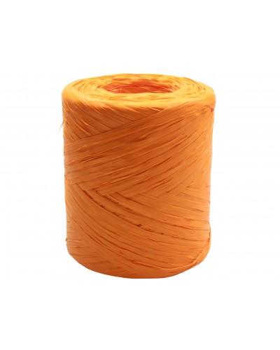Rafia w rolce pomarańczowa 200m rafii