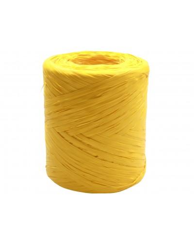 Rafia w rolce żółta 200m rafii