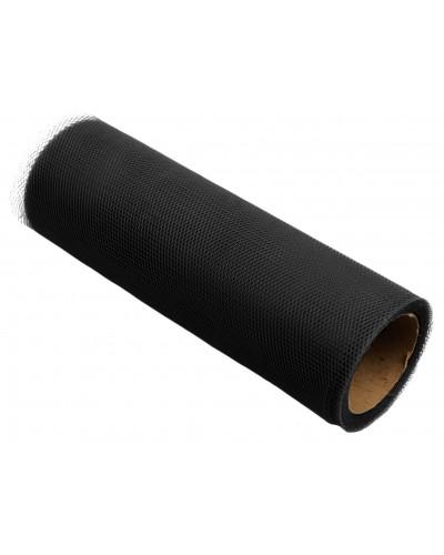 Tiul dekoracyjny 15cm czarny