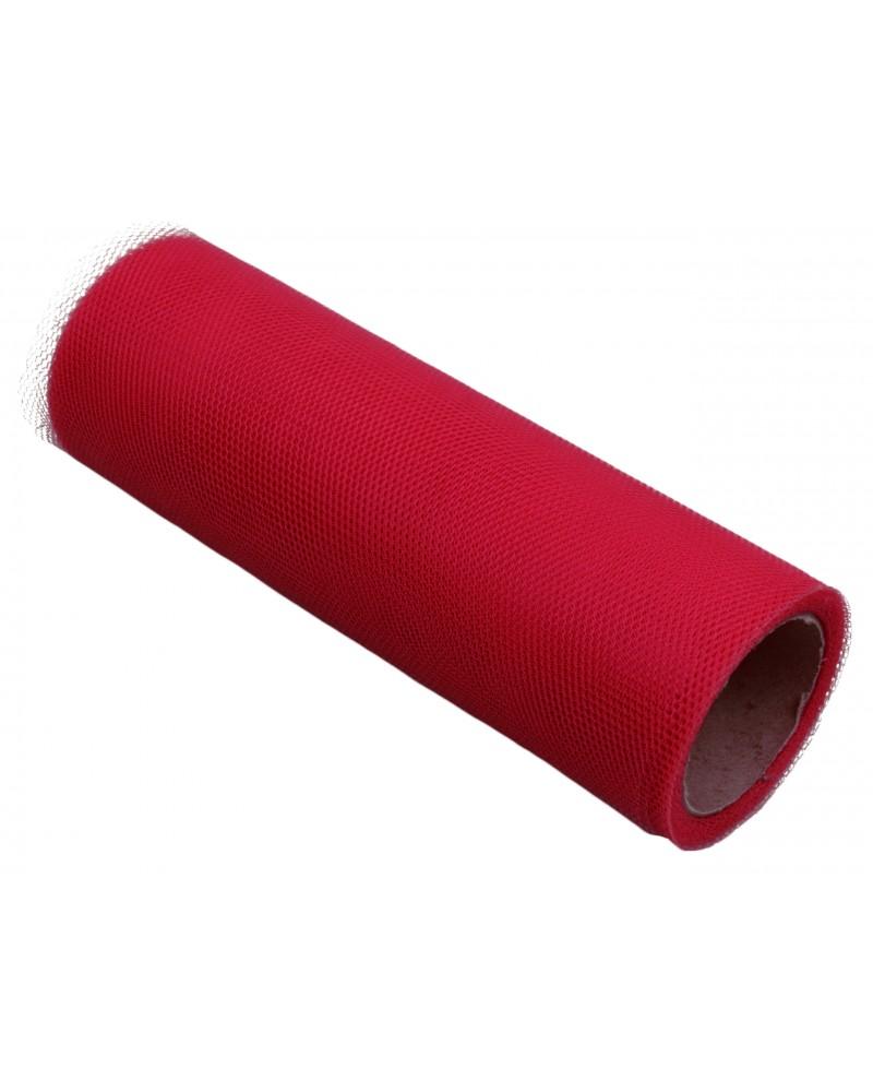 Tiul 15cm czerwony