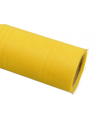 Tiul dekoracyjny 30cm żółty