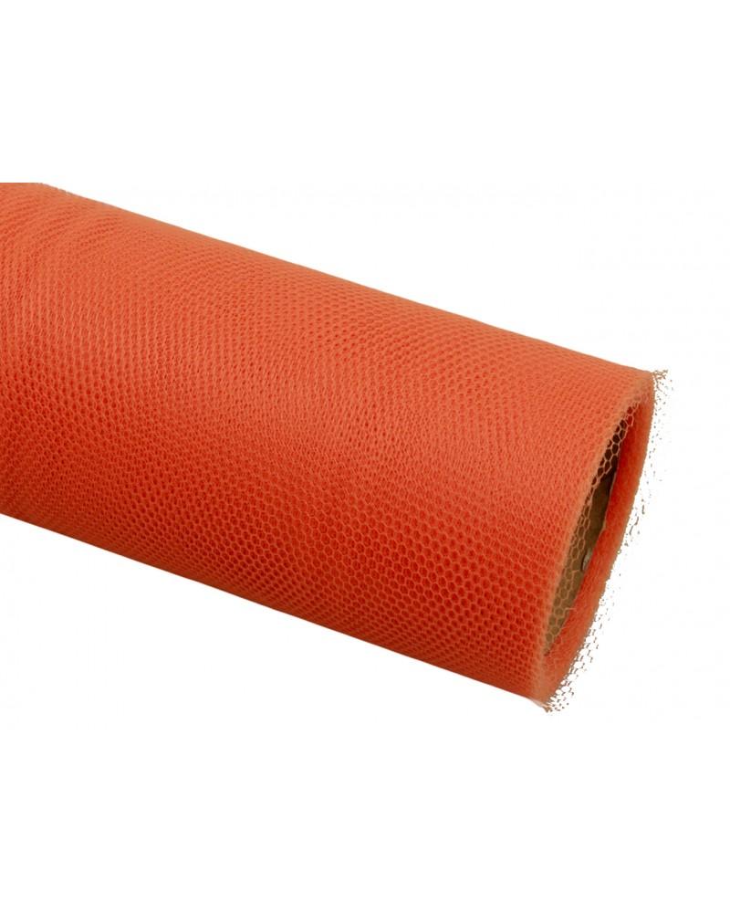 Tiul 50cm pomarańczowy