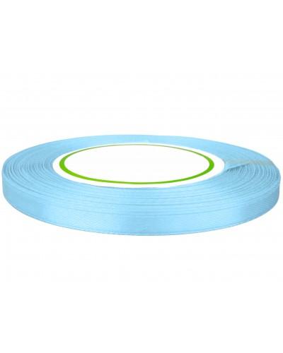 Wstążka satynowa 6mm błękitna