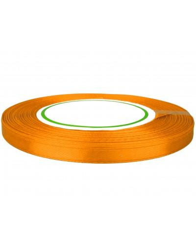 Wstążka satynowa 6mm pomarańczowa
