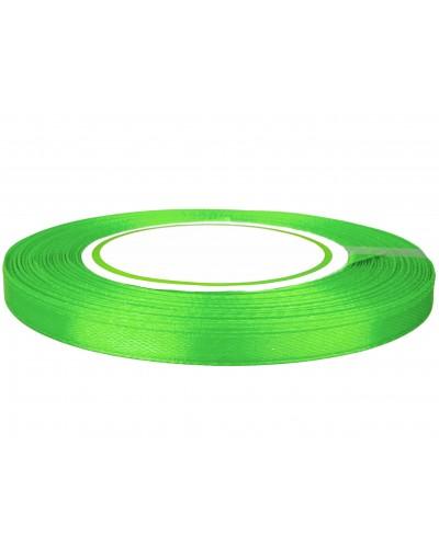 Wstążka satynowa 6mm zielona