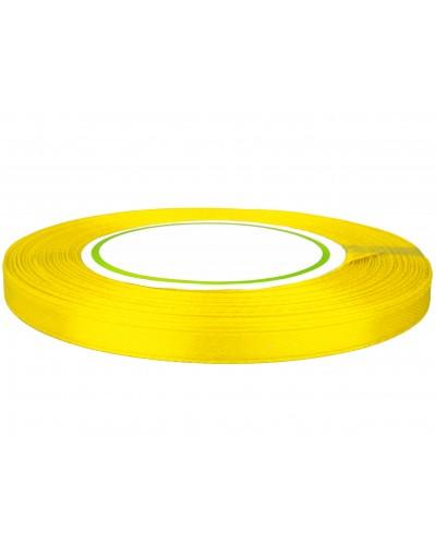 Wstążka satynowa 6mm żółta