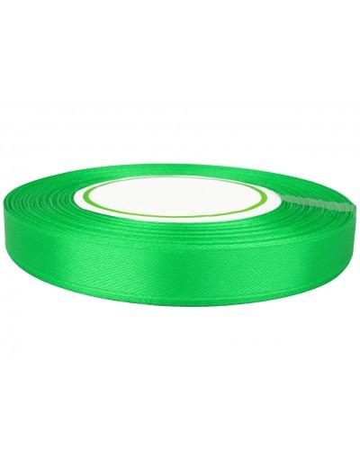 Wstążka satynowa 12mm zielona