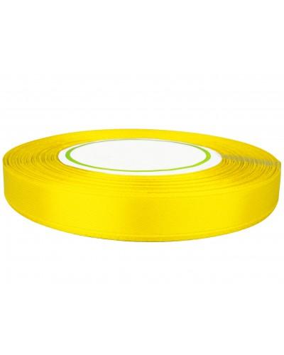 Wstążka satynowa 12mm żółta