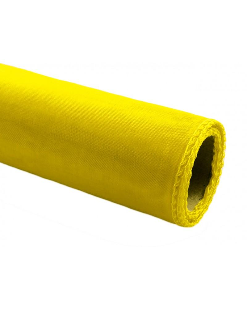 Organza 12cm żółta