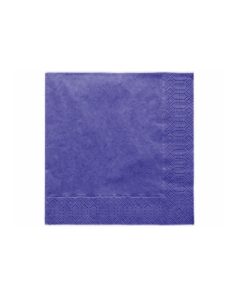 Serwetki 33x33 niebieskie