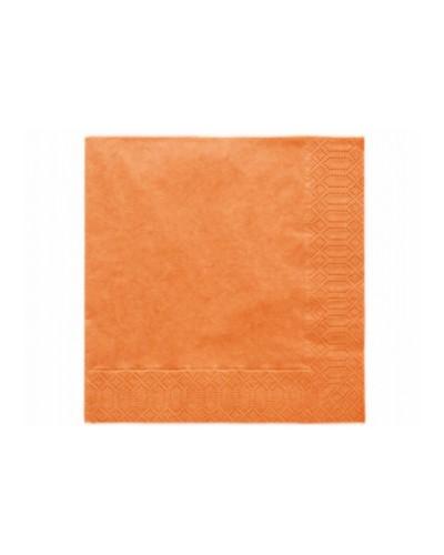 Serwetki 33x33 pomarańczowe