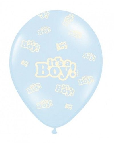 Balon lateksowy It's a Boy Błękitny