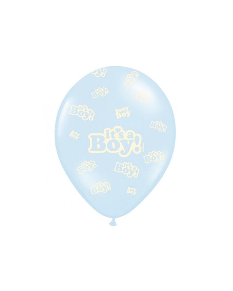 Balon lateksowy It's a Boy Błękitny