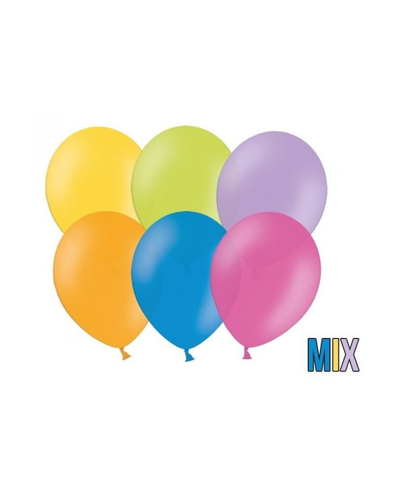 """Balony pastelowe 12"""" Mix Kolorów"""
