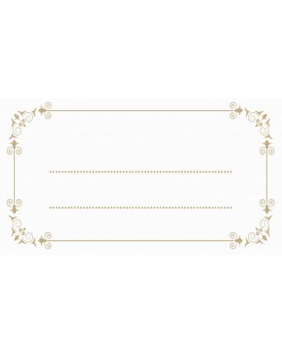 Winietki Kolekcja Złoty Ornament 10 szt.