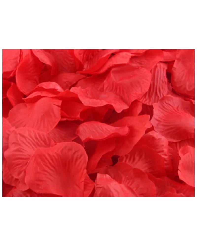 Płatki róż dekoracja w opakowaniu Czerwone