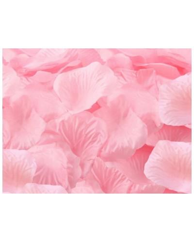 Płatki róż dekoracja w opakowaniu różowe
