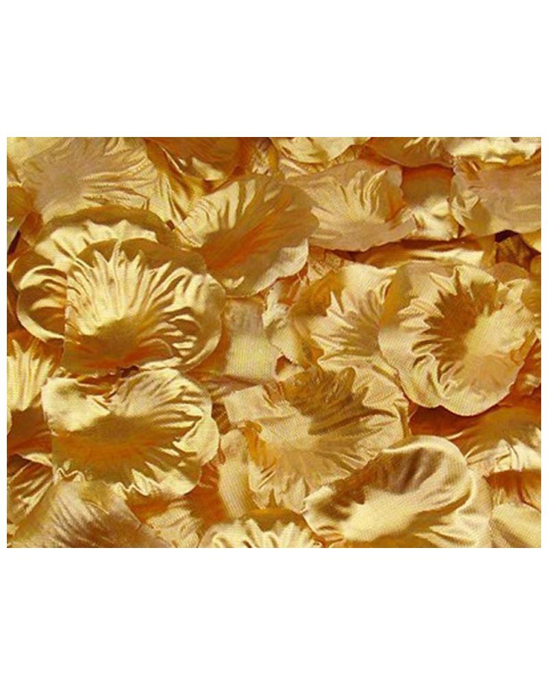Płatki róż dekoracja w opakowaniu Złote