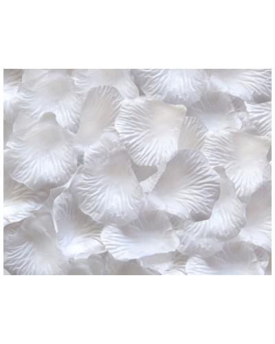 Płatki róż dekoracja w opakowaniu Białe