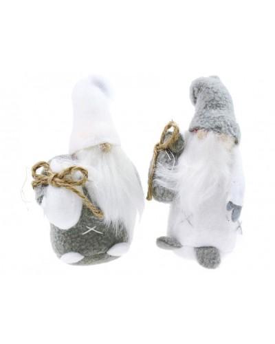 Figurki Skrzaty, Święty Mikołaj z prezentami 14cm