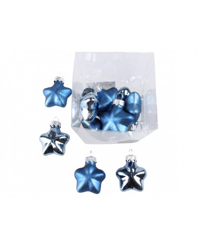 Bombki gwiazdy Chabrowe