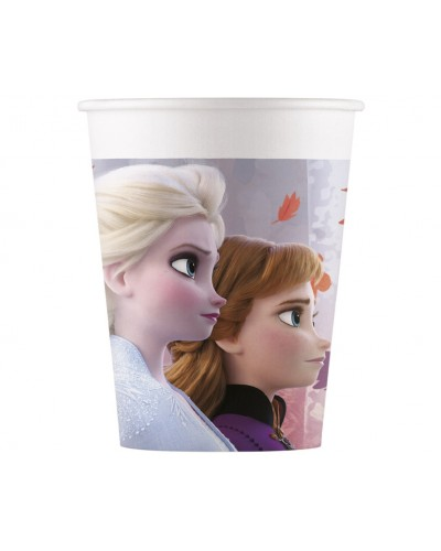 Frozen II papierowe kubeczki