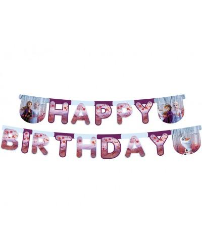 Frozen II banner Happy Birthday