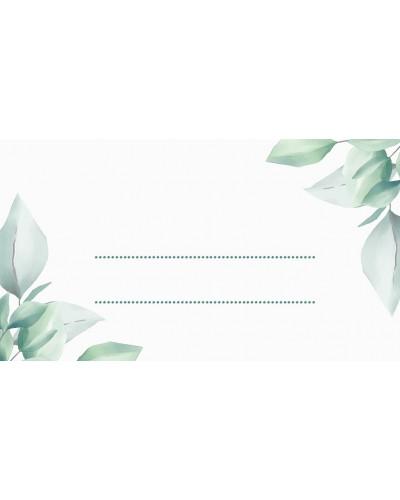 Winietki ślubne - Cold Mint Leaf