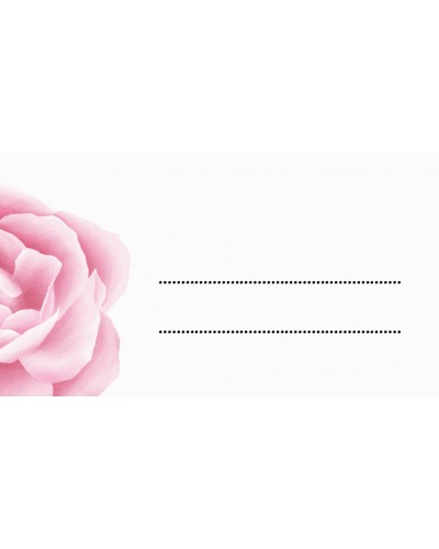 Winietki ślubne - Flower Rings