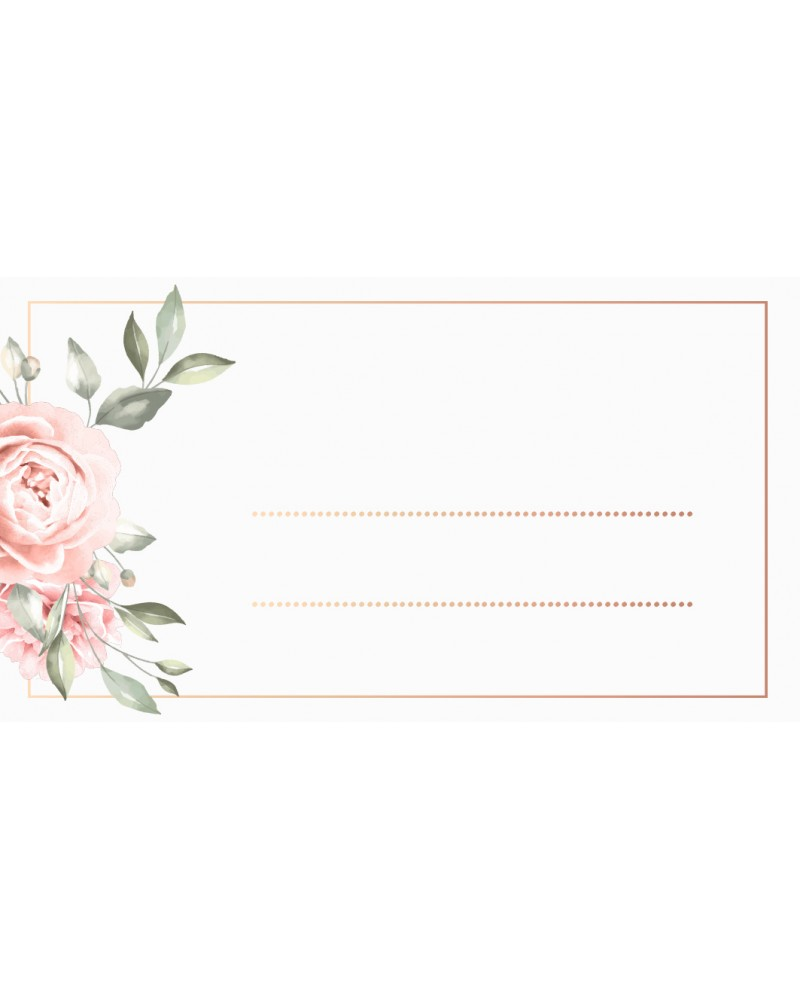 Winietki ślubne - Luxury Flowers