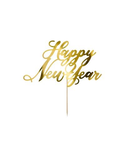 "Topper na sylwestra ""Happy New Year"""