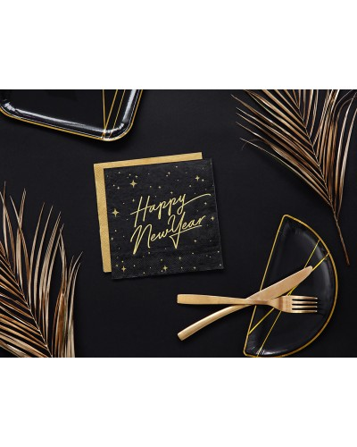 Serwetki Happy New Year All Stars
