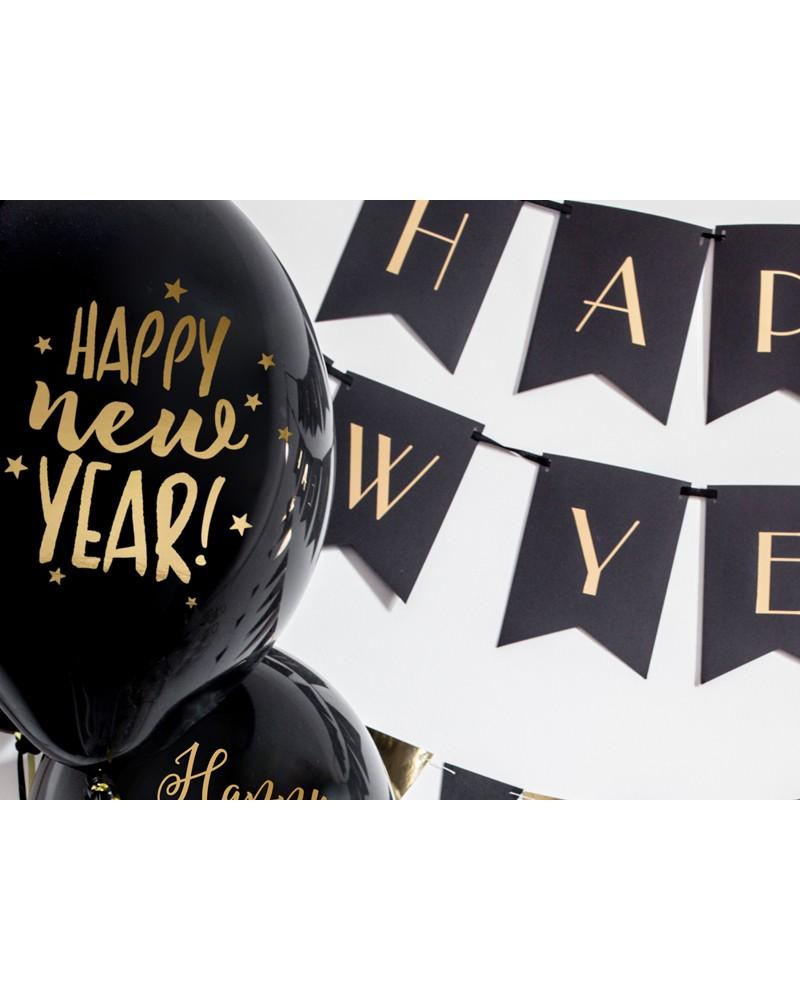Balon na sylwestra Happy New Year