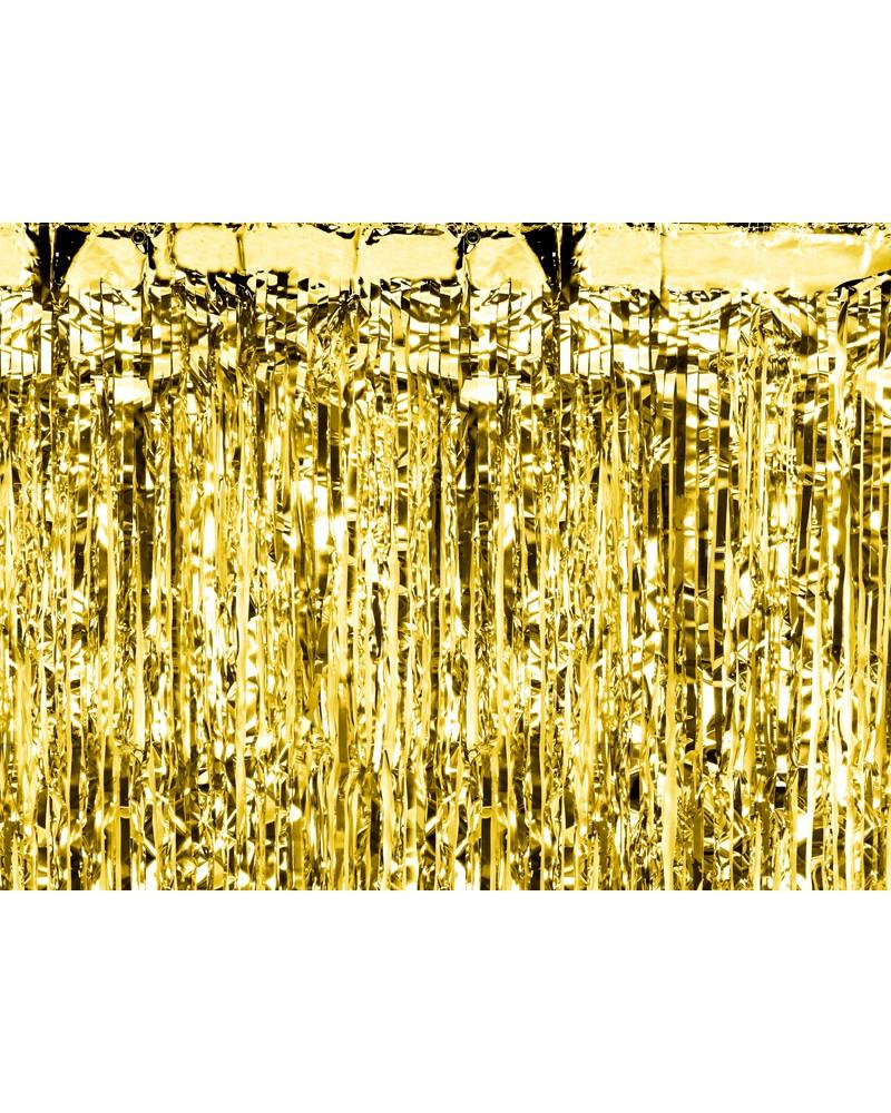 Kurtyna metalizowana złota / 0,9 m x 2,5