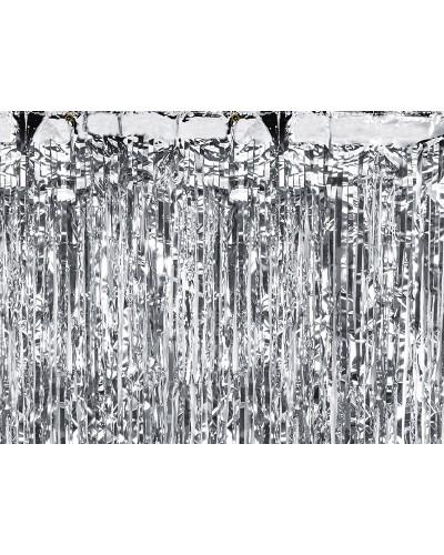 Kurtyna metalizowana srebrna /0,9m x 2,5