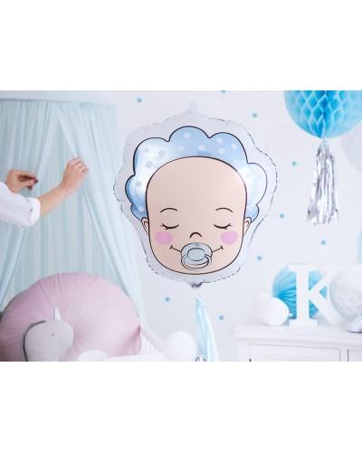 Balon foliowy Chłopczyk baby shower