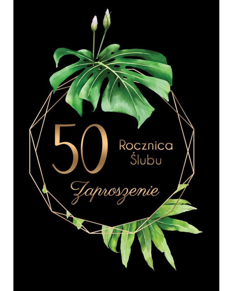 Zaproszenie na rocznicę ślubu - Luxury Anniversary