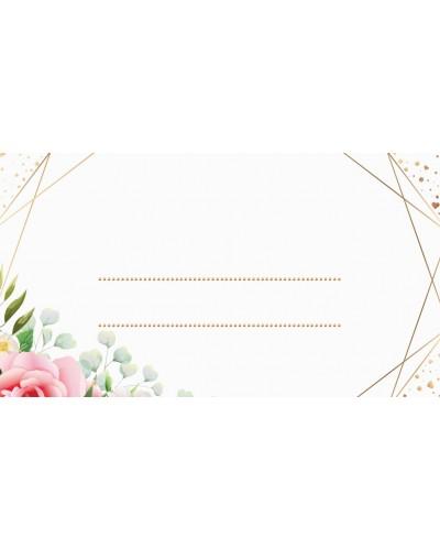 Winietki na Rocznicę Ślubu - Flower Rain