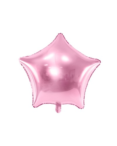 """Balon foliowy Gwiazda różowa 18"""""""