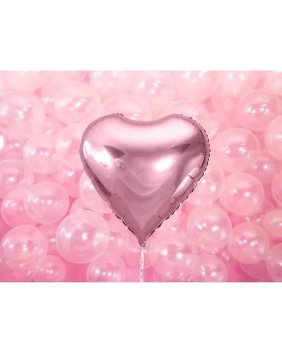 Balon foliowy Serce różowe 60cm