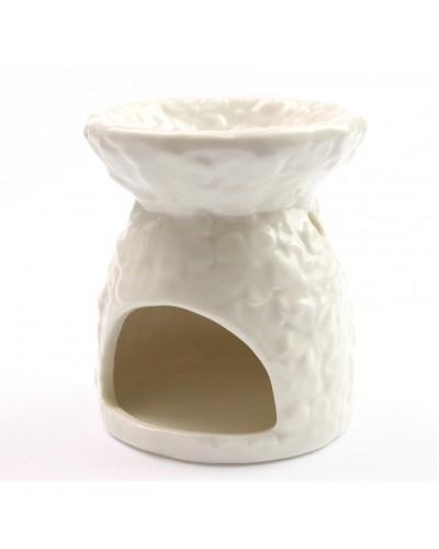 Kominek eteryczny, Podgrzewacz do wosków, Białe kwiaty