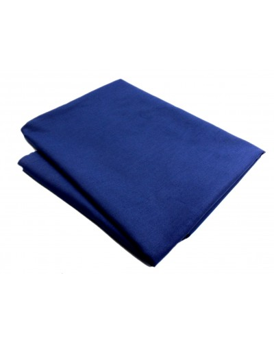 Tkanina bawełniana - Granatowa 140g/m2 130cm / 1m