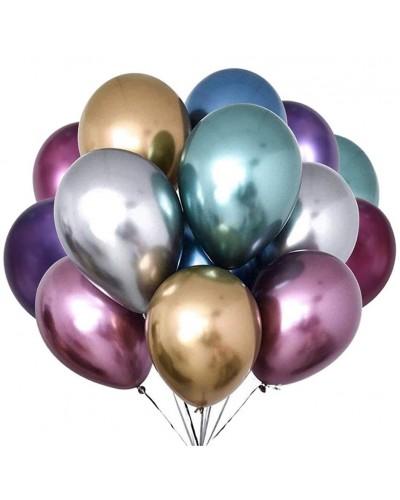 "Balony chromowane 13"" 40cm Shinny Mix 18szt"