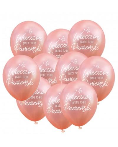 """Balony """"Wieczór Panieński"""" Rose Gold"""
