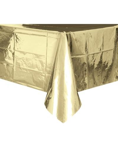 Obrus foliowy złoty