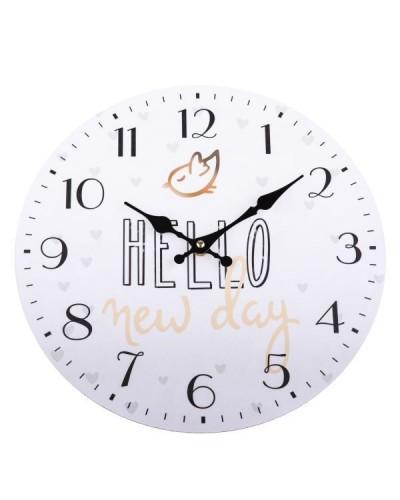 Zegar Ścienny Hello New Day