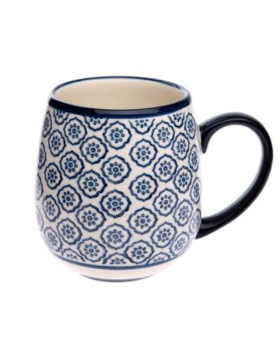 Kubek Ceramiczny styl Bolesławiec 390ml